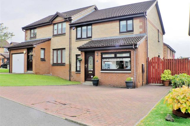 4 bed semi-detached house for sale in Dunnottar Crescent, Stewartfield, East Kilbride