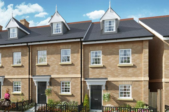 """Thumbnail Semi-detached house for sale in """"The Beeston"""" at The Ridgeway, Enfield"""