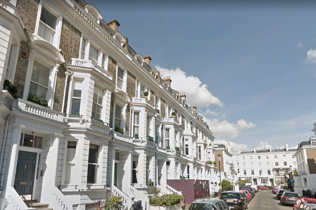 Terraced house to rent in Stafford Terrace, Kensington