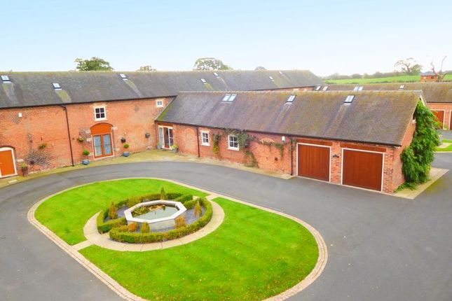 Thumbnail Barn conversion for sale in Deans Lane, Balterley, Crewe