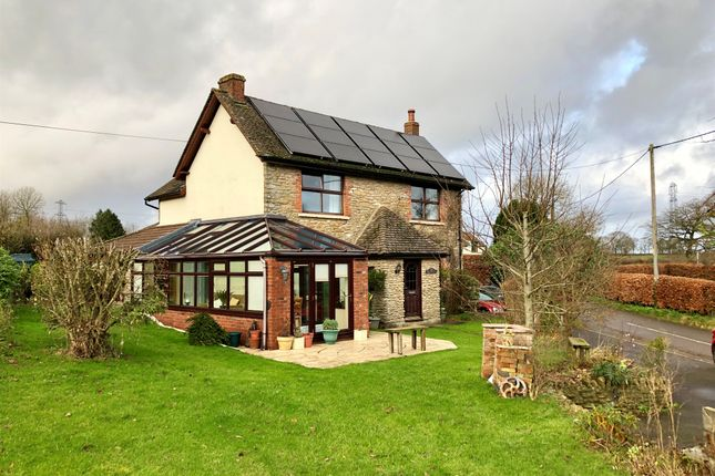 Thumbnail Detached house for sale in Greenfields, Wanstrow, Shepton Mallet