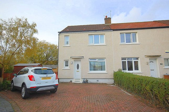 Thumbnail End terrace house for sale in Wirran Place, Peterson Park, Knightswood, Glasgow