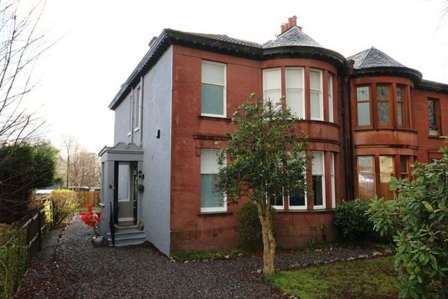 Thumbnail Semi-detached house for sale in Rosedale Gardens, Maryhill Park, Glasgow
