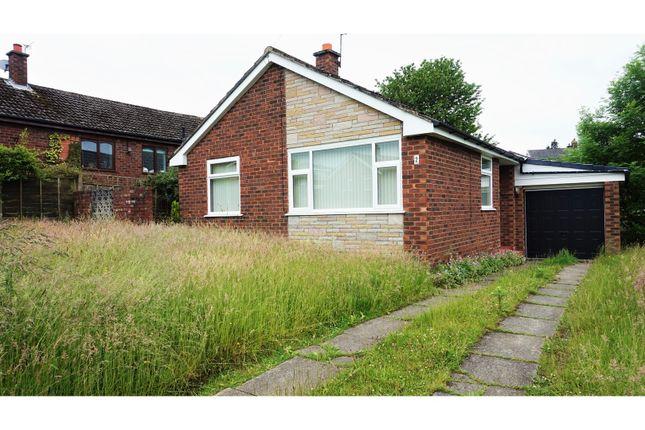 Thumbnail Detached bungalow for sale in Laburnum Avenue, Stalybridge