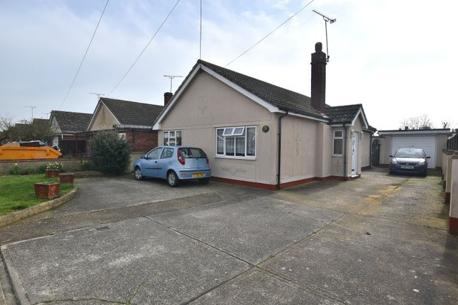 Thumbnail Detached bungalow for sale in Wembley Avenue, Mayland