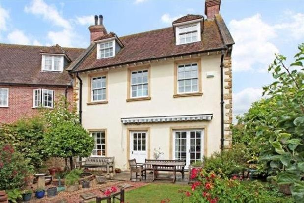 Thumbnail Town house to rent in St. Antonys Square, Westbury, Sherborne