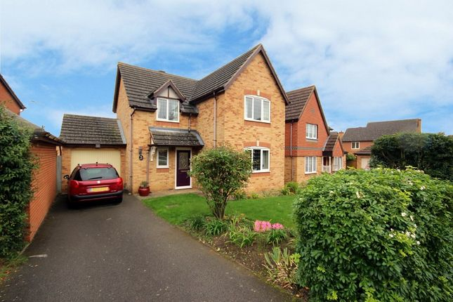 Thumbnail Detached house for sale in Lowry Close, Wellingborough, Northamptonshire.