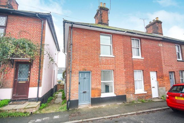 Thumbnail End terrace house for sale in Station Road, Colchester
