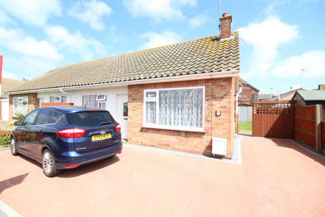 Thumbnail Semi-detached bungalow for sale in Eastern Avenue, Caister-On-Sea, Great Yarmouth