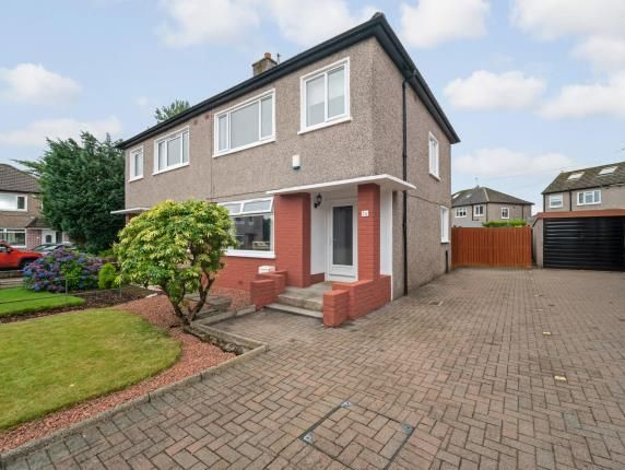 Thumbnail Semi-detached house for sale in Arisaig Drive, Bearsden, Glasgow, East Dunbartonshire