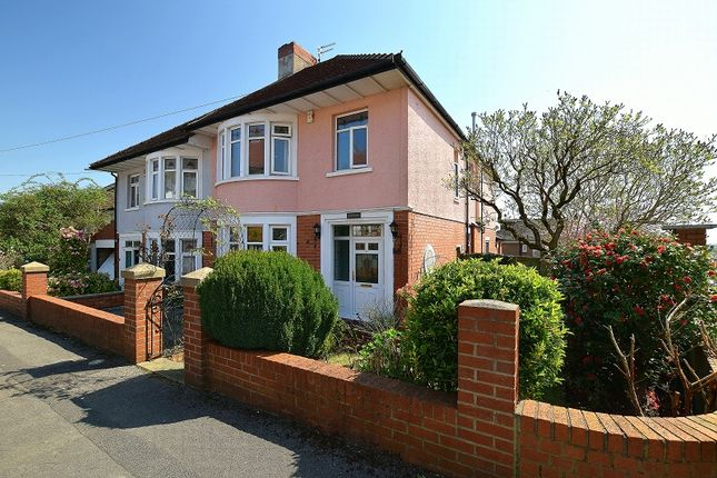 Thumbnail Semi-detached house for sale in Dorchester Avenue, Penylan, Cardiff.