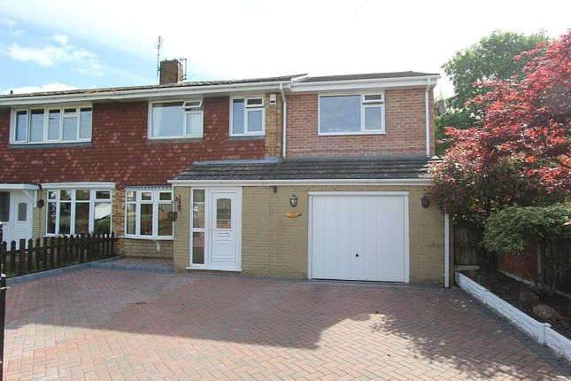 Thumbnail Semi-detached house for sale in 7, Goodliff Road, Grantham, Lincolnshire