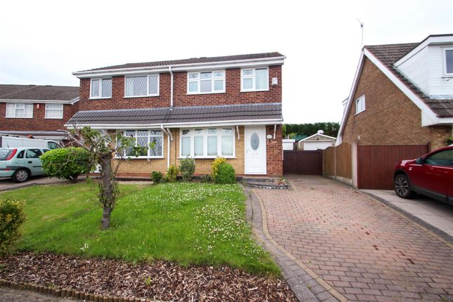 Thumbnail Semi-detached house for sale in Houseman Drive, Parkhall, Stoke-On-Trent