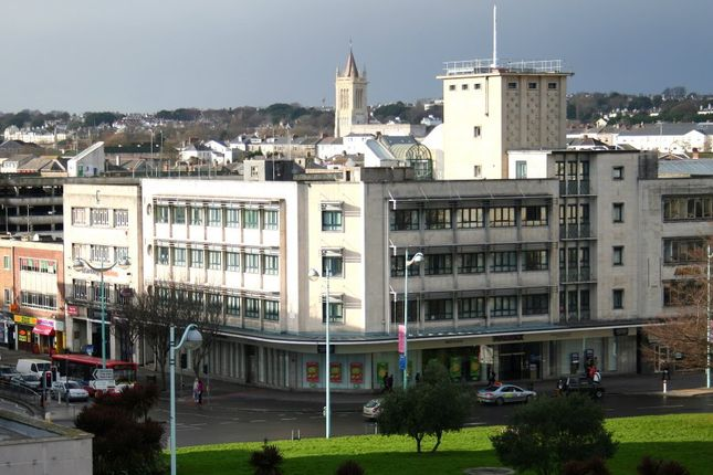 1 bed flat to rent in Radiant House, Derry's Cross, Plymouth PL1