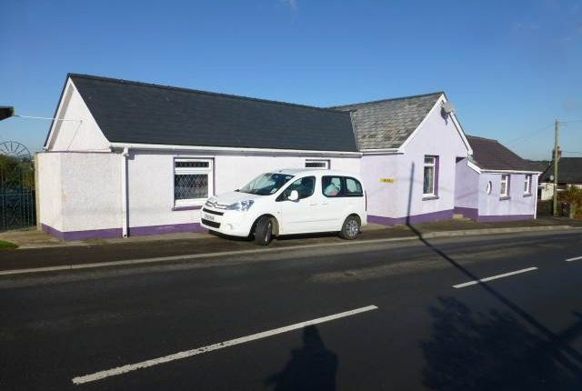 Thumbnail Bungalow to rent in New Inn, Pencader, Carmarthenshire