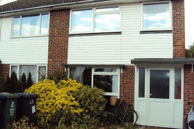 Thumbnail Semi-detached house to rent in Badminton Close, Cambridge
