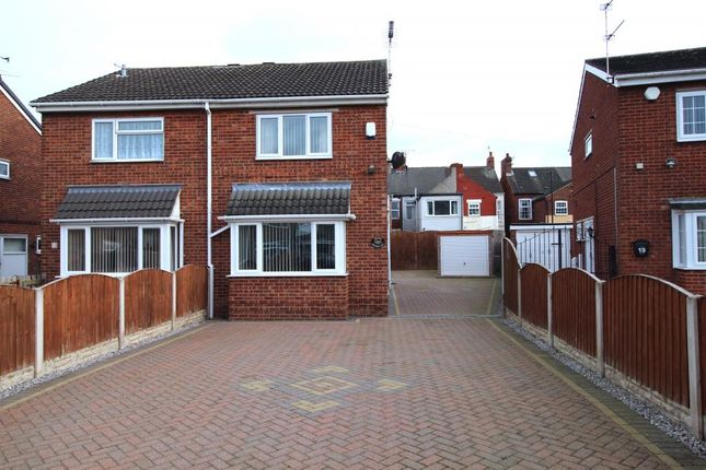 Thumbnail Semi-detached house for sale in Belvedere Close, Askern, Doncaster