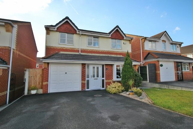 Thumbnail Detached house for sale in Wharton Hall Close, Tyldesley, Manchester