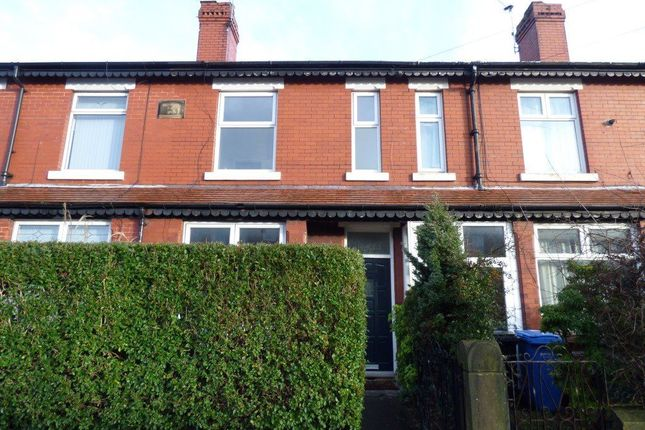 Thumbnail Terraced house to rent in Harrytown, Stockport, Greater Manchester