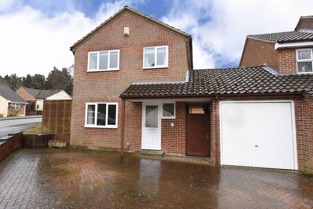 Thumbnail Link-detached house for sale in Sandford Close, Kingsclere, Newbury