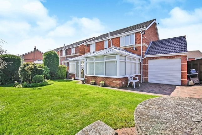 Thumbnail Detached house for sale in Stainmore Drive, Great Lumley, Chester Le Street