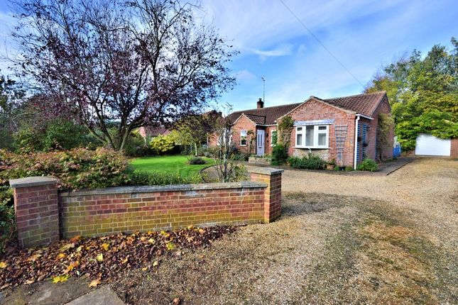 Thumbnail Detached bungalow for sale in Lynn Road, Great Bircham, King's Lynn