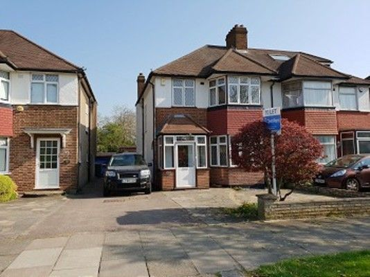 Thumbnail Property to rent in Westpole Avenue, Cockfosters, Barnet