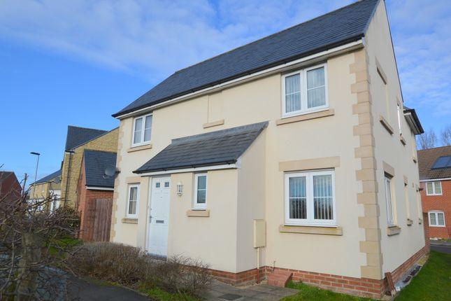 Thumbnail Detached house to rent in Honeysuckle Close, Melksham, Melksham, Wiltshire