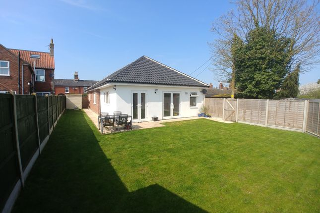 Thumbnail Detached bungalow for sale in Southend Road, Bungay, Bungay