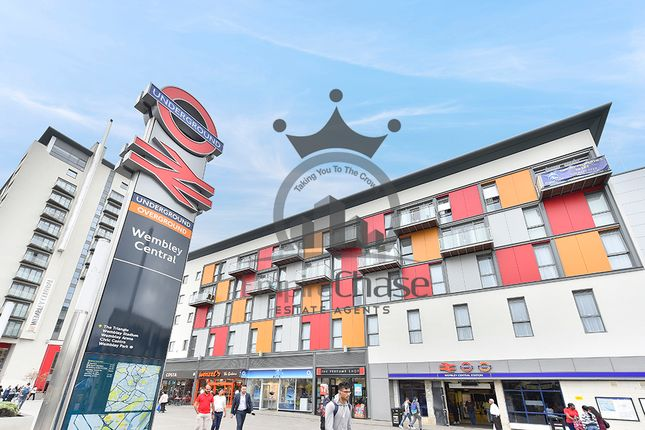 Thumbnail Flat to rent in Metro Apartments, Central Square, High Road, Wembley