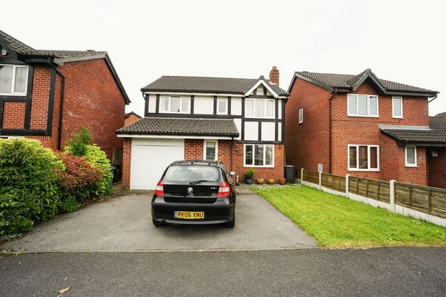 Thumbnail Detached house to rent in Parklands Drive, Aspull, Wigan