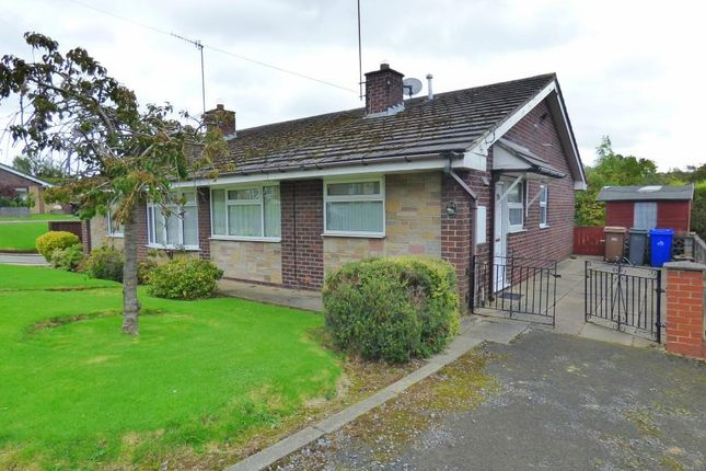 Thumbnail Semi-detached bungalow to rent in Langland Drive, Longton, Stoke-On-Trent