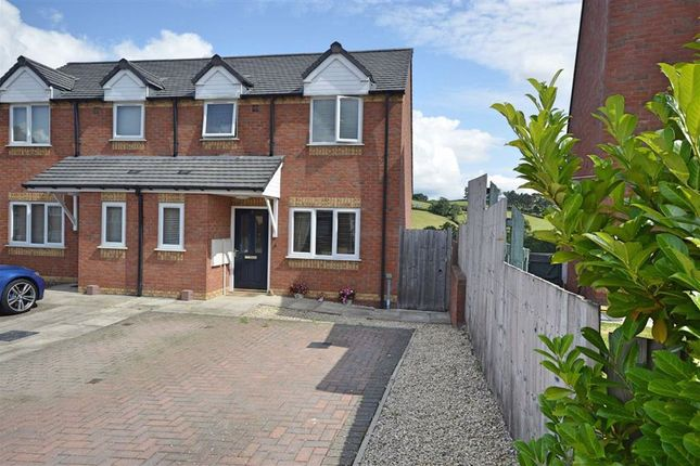 Thumbnail Semi-detached house for sale in 2, Brynmor Park, Newtown, Powys