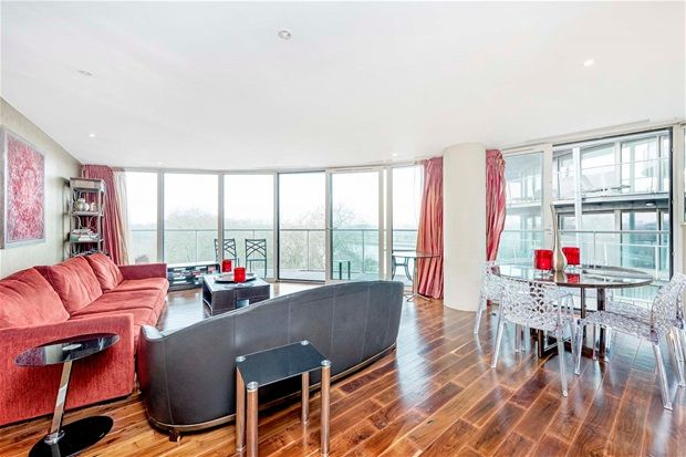 Thumbnail Property to rent in Oswald Building, Two Bedroom, Chelsea Bridge Wharf