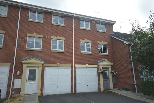 Thumbnail Town house to rent in Capel Way, Nantwich