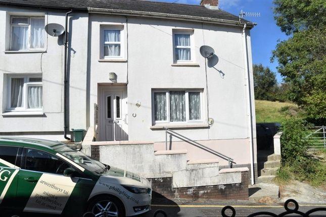 Thumbnail End terrace house for sale in Green Hill, Llandysul