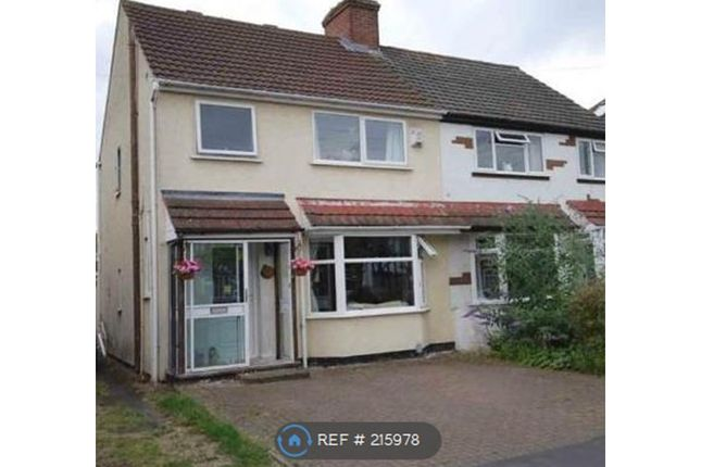 Thumbnail Semi-detached house to rent in Fareham Ave, Rugby