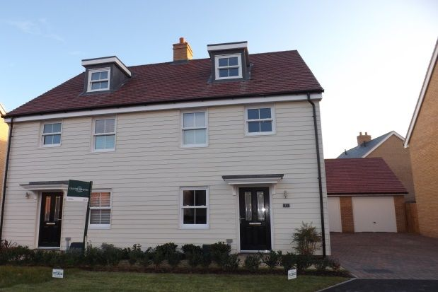 Thumbnail Semi-detached house to rent in Wensum Grove, Biggleswade