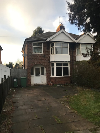 Thumbnail Semi-detached house to rent in Narborough Road South, Leicester