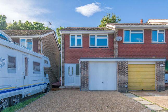 Thumbnail Semi-detached house for sale in Wren Close, Heathfield