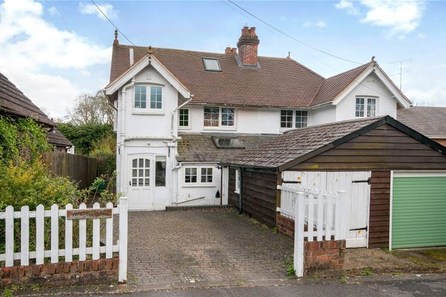 3 bed semi-detached house for sale in Waterworks Road, Otterbourne, Winchester, Hampshire SO21