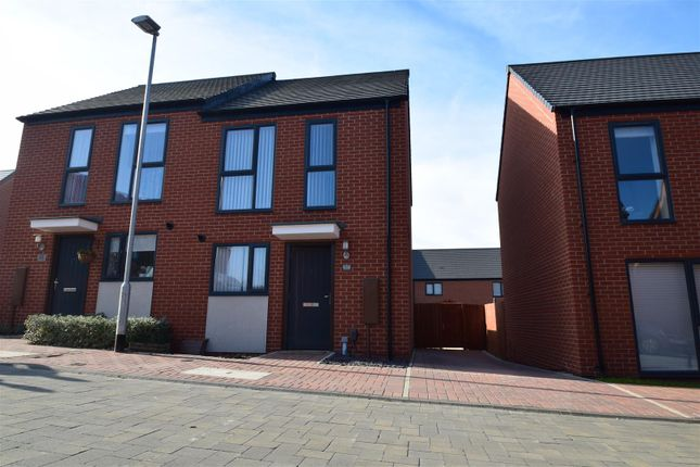 Thumbnail Semi-detached house for sale in Hendy Avenue, Ketley, Telford