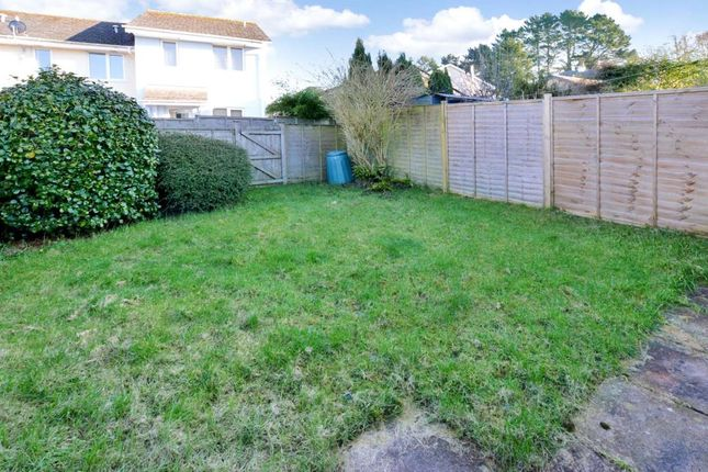 Rear Garden of Bridge Road, Totnes, Devon TQ9