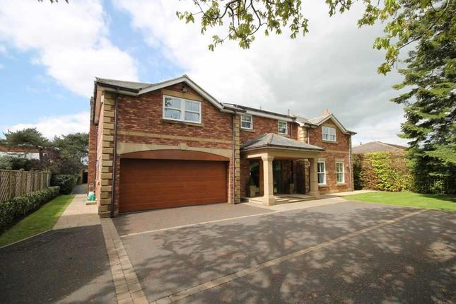 Thumbnail Detached house for sale in Middle Drive, Darras Hall, Newcastle Upon Tyne