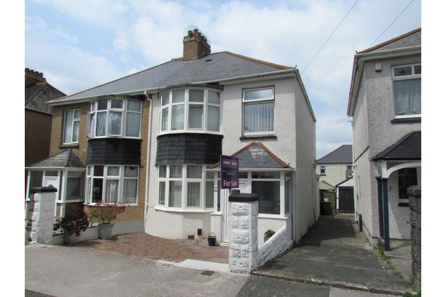 Thumbnail Semi-detached house for sale in Ayreville Road, Plymouth