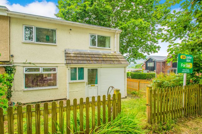 Thumbnail End terrace house for sale in Chepstow Close, Croesyceiliog, Cwmbran