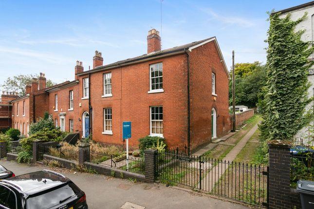 Thumbnail End terrace house for sale in Lee Crescent, Edgbaston