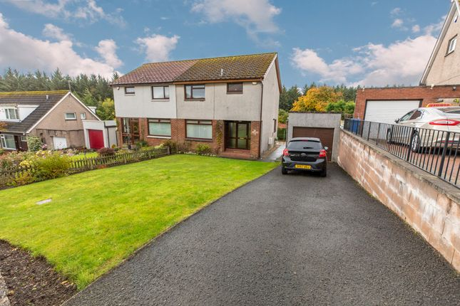 Thumbnail Semi-detached house for sale in Mellerstain Road, Kirkcaldy