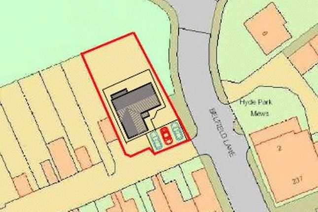 Land for sale in Milnrow Road, Rochdale