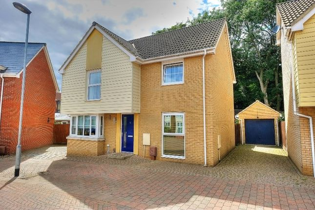 Thumbnail Detached house for sale in Silvo Road, Costessey